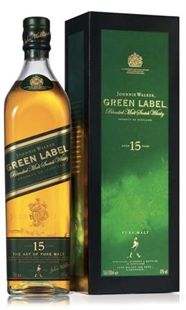Johnnie Walker Scotch Green Label